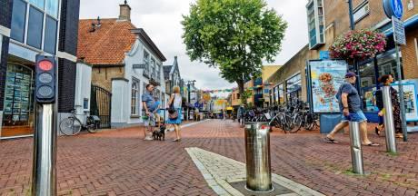 Camera's in Oosterhoutse binnenstad, paaltjes verdwijnen