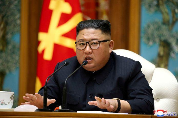 De Noord-Koreaanse leider Kim Jong-un op archiefbeeld.