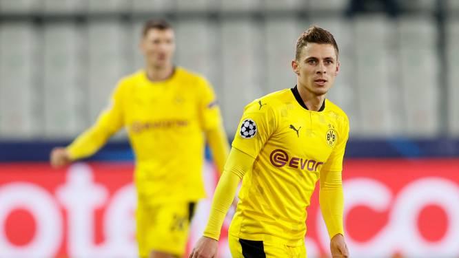"""Dortmund-coach Terzic rekent in januari nog niet op Thorgan Hazard: """"Maar hij zit volledig op schema"""""""