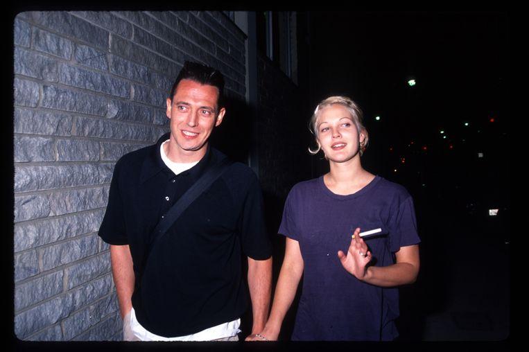 Drew Barrymore en Jeremy Thomas waren net geen maand getrouwd.