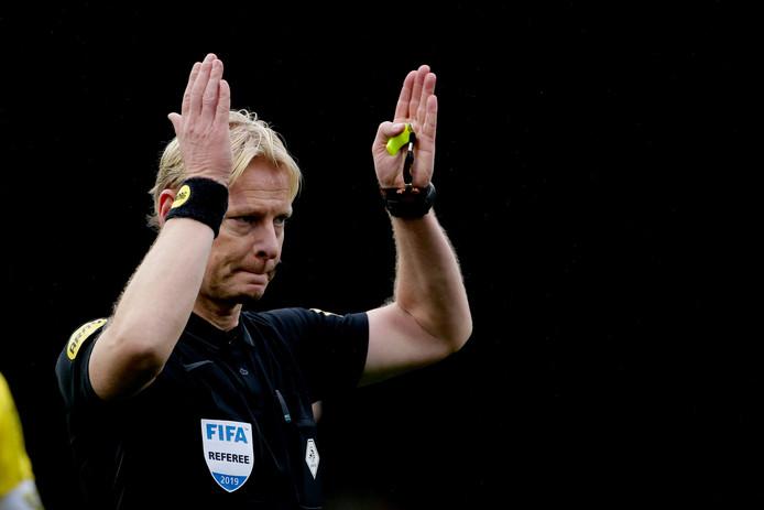 referee Kevin Blom, scheidsrechter during VVV-Venlo - Feyenoord NETHERLANDS, BELGIUM, LUXEMBURG ONLY COPYRIGHT BSR/SOCCRATES