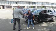 Laatstejaars VTI halen diploma af via drive-in