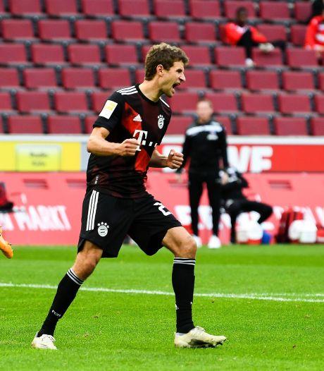 Müller evenaart Kahn met 260 zeges met Bayern in Bundesliga