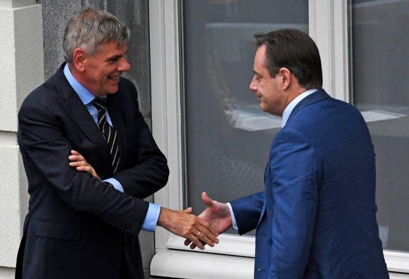 Bart De Wever en Filip Dewinter.
