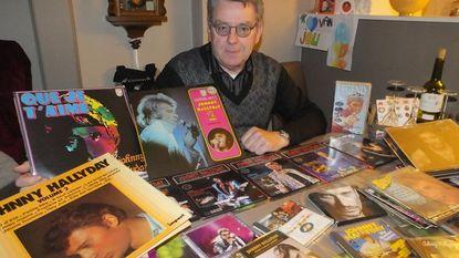 Superfan Freddy (69) rouwt om Johnny Hallyday