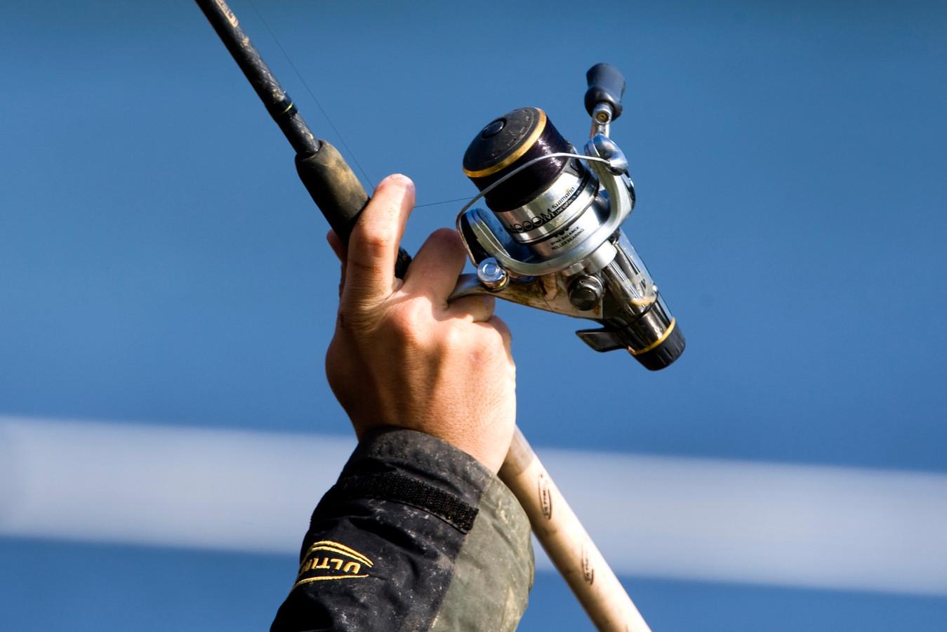 De Vecht is een geliefde stek voor sportvissers. Foto ter illustratie.