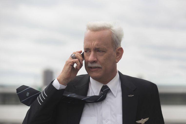 Hanks als piloot Chesley Sullenberger in Sully. Beeld Associated Press