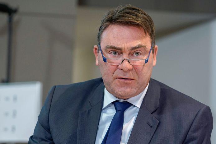 Denis Ducarme, ministre des Indépendants.