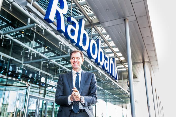 Wiebe Draijer,  bestuursvoorzitter Rabobank.