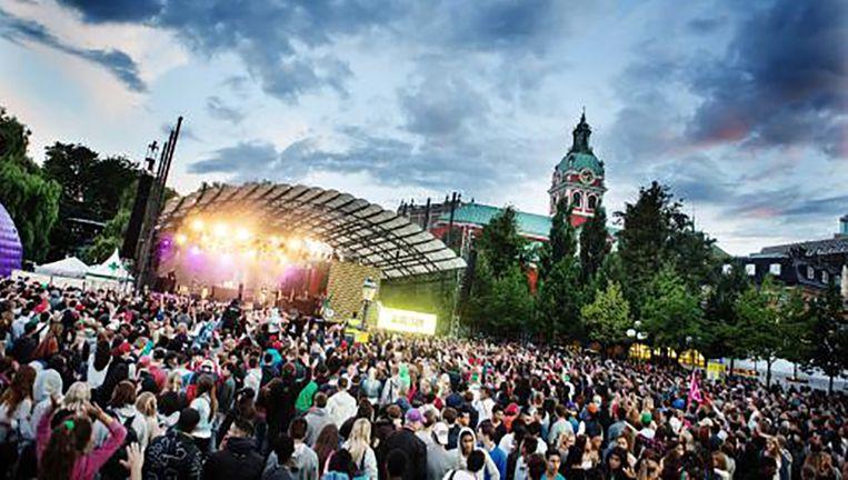 Het 'We are Sthlm'-festival in 2015. Beeld @kulturfestivalen.stockholm