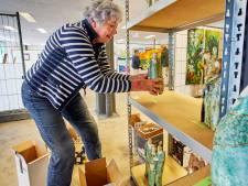 Ruw'Art verhuist laatste kunstwerken uit de Houtstraat: 'We hebben het hier heel fijn gehad'