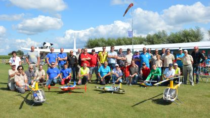 Modelvliegtuigen in alle soorten op fly-in The Little Wings