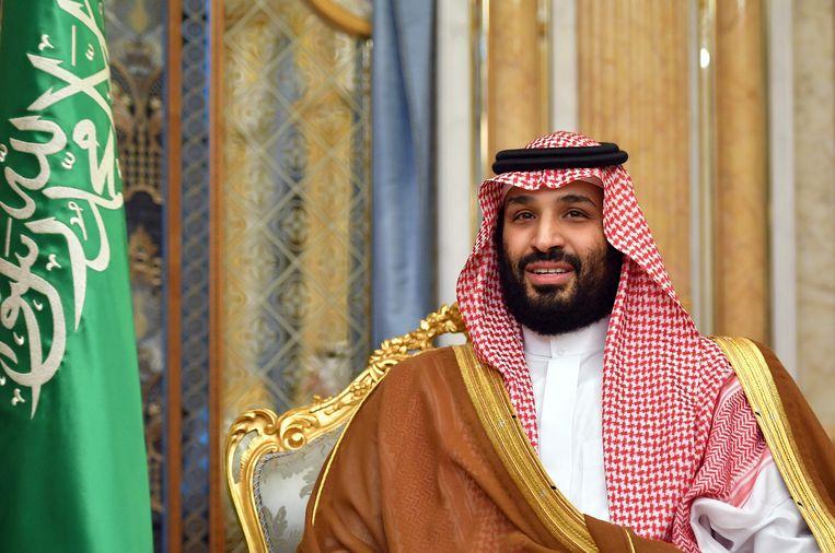De Saoedische kroonprins Mohammed bin Salman. Beeld AFP