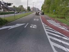 R4 bij Zelzate voorlopig dicht vanwege kleverig goedje op asfalt, alternatief is 'flink om'