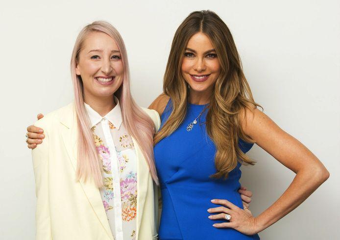 Sofia Vergara met onze reporter in LA
