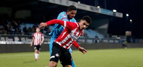 Jong PSV kan het niet bolwerken tegen FC Twente