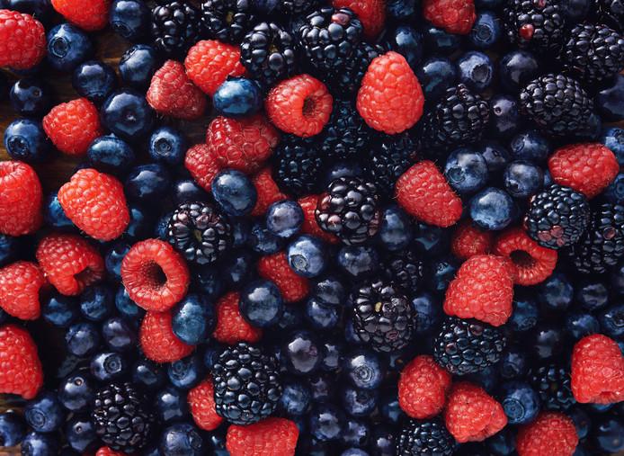 Kleinfruit, bramen, bessen, frambozen