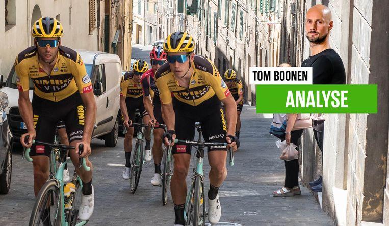 Tom Boonen blikt vooruit naar de Strade Bianche.