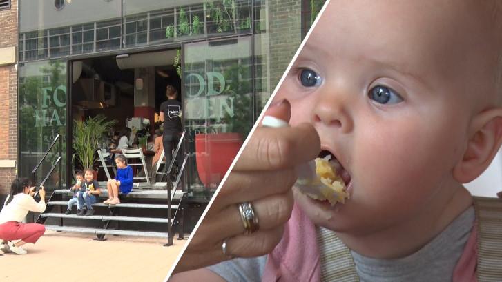 Opening babyrestaurant De Kleine Keuken