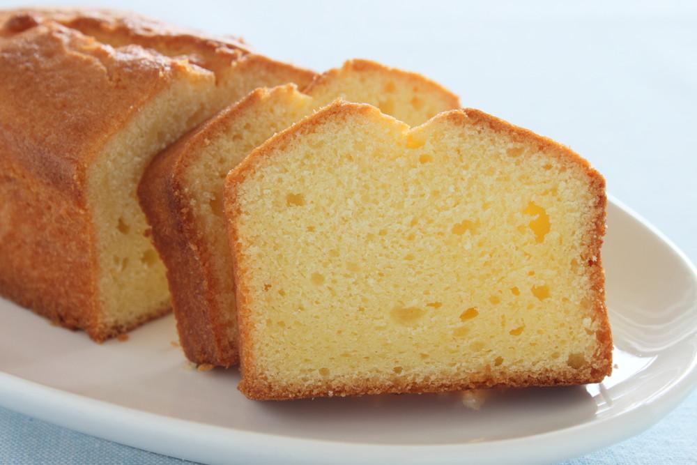 Een simpele plak cake kan prima als tussendoortje.