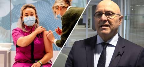 Burgemeester coronabrandhaard blikt terug op een zwaar jaar: 'Met het eerste vaccin is de cirkel rond'