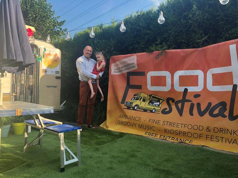 Een deel van de opbrengst van de eerste editie van Foodstival ging vorig jaar naar de kleine Nona, die aan een zeldzame stofwisselingsziekte lijdt.