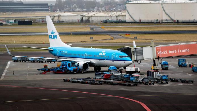 Zeven op de tien vluchten op Schiphol komen voor rekening van KLM en haar samenwerkingspartners.