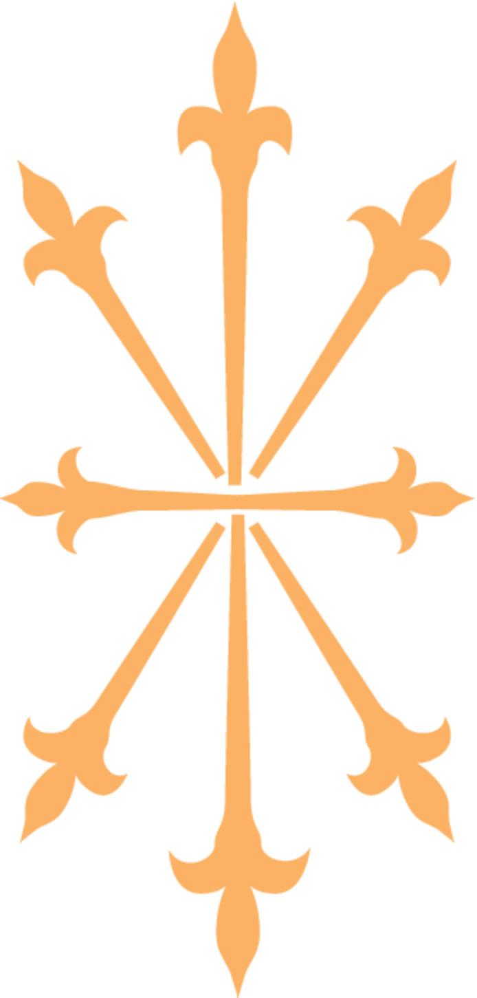 De karbonkel van het gemeentewapen van Zevenaar.