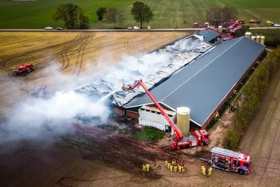 Ruim 120.000 dieren verbrand: 'Maak meer werk van brandveiligheid stallen'