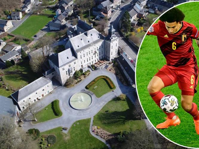 Axel Witsel staat op het punt om historisch kasteel in Ardens dorpje te kopen
