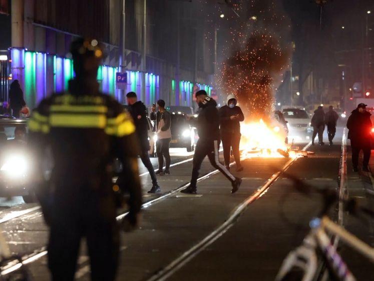 Overzicht: in veel steden rellen als protest tegen avondklok