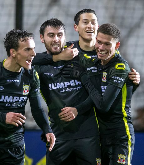 Van Wonderen content 'met goede overwinning' op Jong Ajax