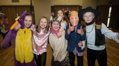 Geen stoet, wel Trump bij De Kiekeboes