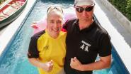 Kathy (48) heeft autisme, maar kan dankzij politieagenten naar WK zwemmen in Zuid-Korea