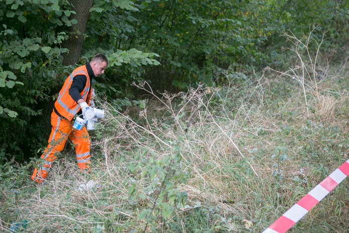 Bij de Didamseweg in Doesburg zijn tientallen vaatjes met kadavers gevonden.