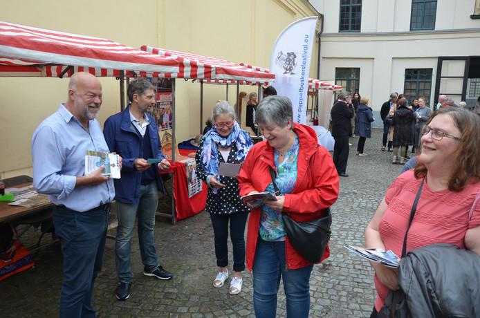 Ook Paul Goossens en Wim De Coninck waren van de partij.