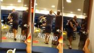 Een zegen voor de ambiance: Anthony Vanden Borre danst erop los in kleedkamer