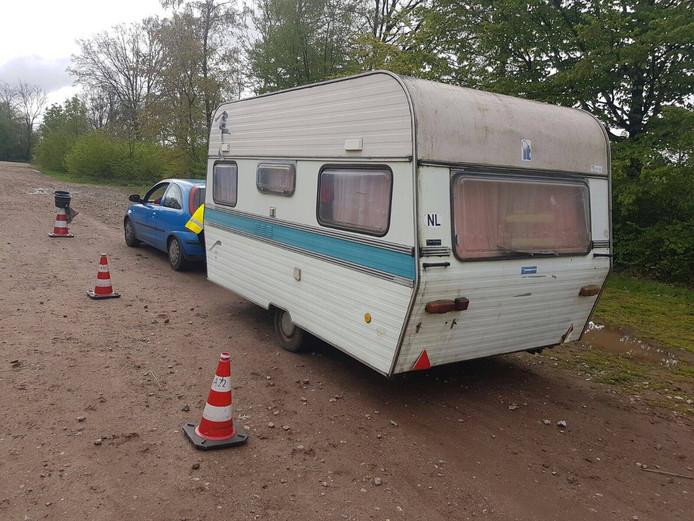 37 caravans werden op Paaspop gecontroleerd.