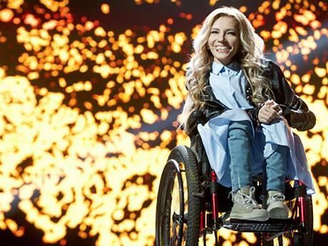 Russische rolstoelzangeres niet welkom op songfestival Kiev