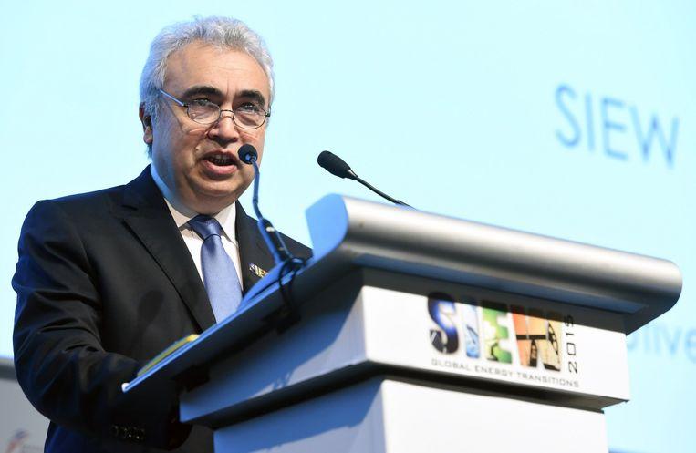 IEA-directeur Fatih Biro. Beeld afo