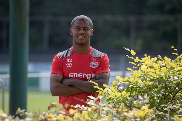 Kenneth Paal in zijn PSV-tijd.