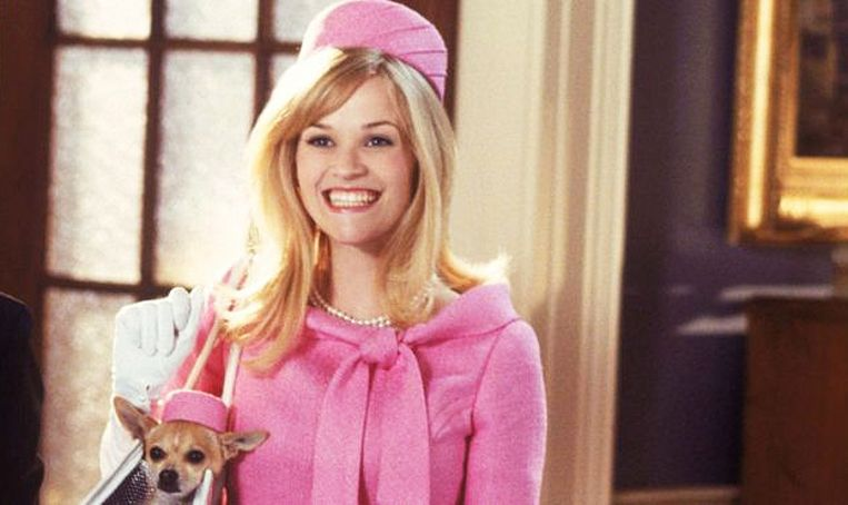 'Legally Blonde 3' met Reese witherspoon.
