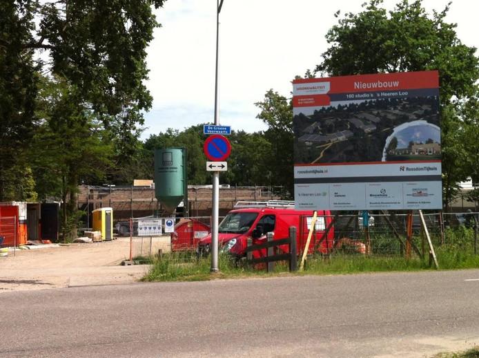 Vanaf de Groene Voorwaarts is de bouwplaats ook te zien.