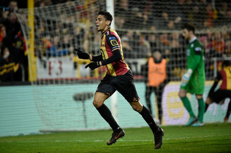 De Camargo scoorde afgelopen zaterdag nog tegen OH Leuven en is samen met OHL-spits Rocha de topschutter in 1B.