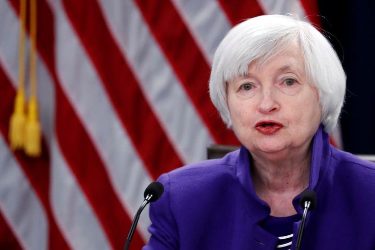 Voormalig Federal Reserve-baas Janet Yellen