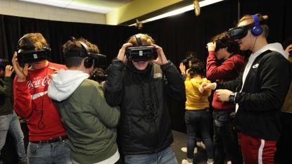 Scholieren zien gevolgen van spoorlopen in virtual reality