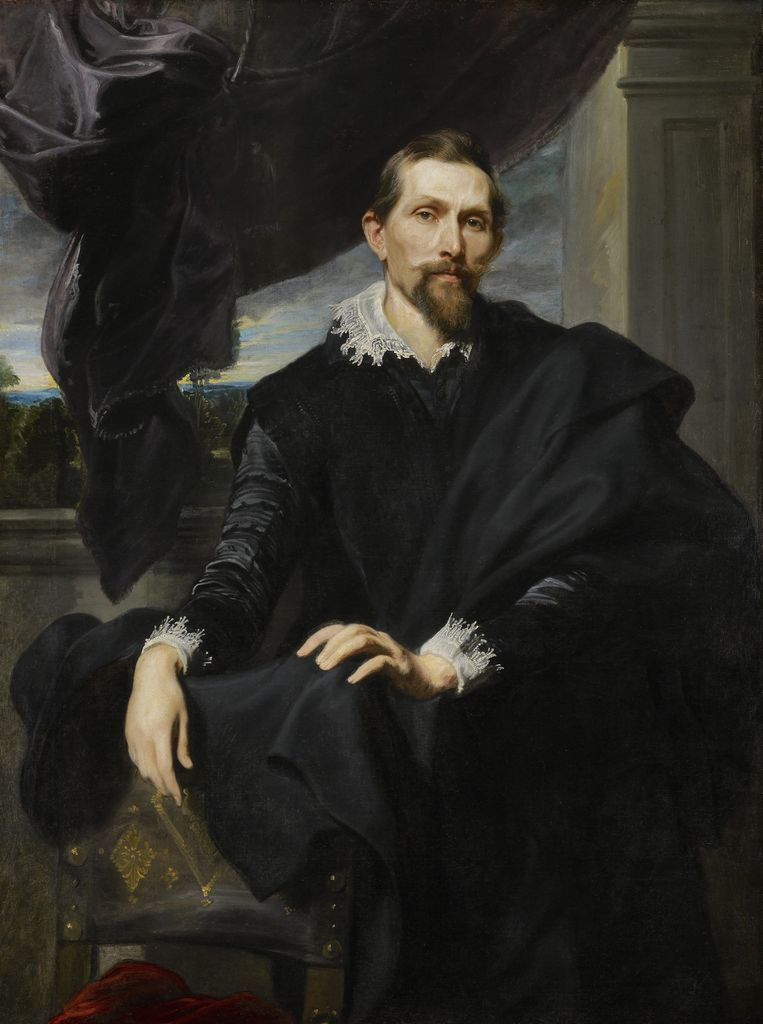 Antoon van Dyck, Frans Snyders, 1620. Beeld The Frick Collection