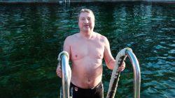 Ideaal ijsberenweer in Deurne: 'genieten' in water van 3 graden