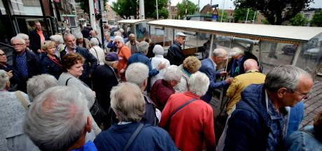 Toeristen in Dordrecht komen óveral vandaan en met honderd tegelijk