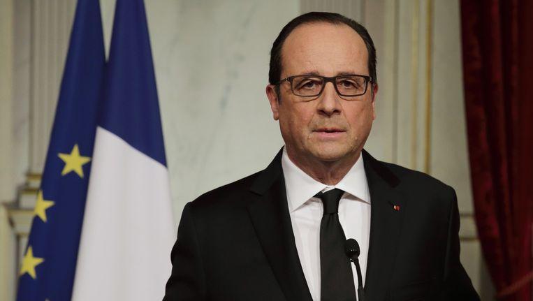 Franse president François Hollande